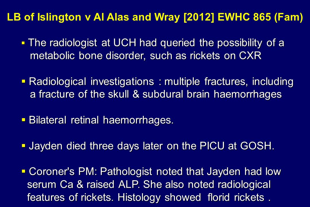 LB of Islington v Al Alas and Wray [2012] EWHC 865 (Fam)